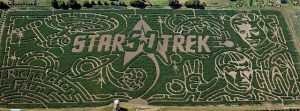 Star Trek celebrated in huge Spring Grove maze