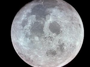 The moon as seen from space. Photo compliments of NASA