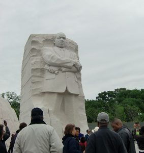 Martin Luther King Jr monument in Washington D.C. Photo by Jodie Jacobs