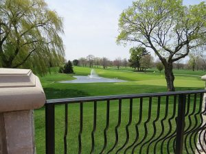 Enjoy good food and views from the terrace like patio at Arrowhead Golf Club, a public venue. Jacobs photo