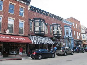 Downtown Galena is a historic and yummy place to be.