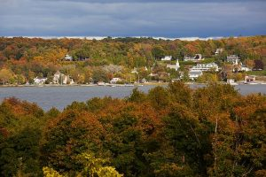 Ephraim in the fall in Door County, WI. Door County Visitors Bureau photo