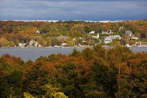 Ephraim in the fall in Door County, WI. Door County Visitors Bureau photo