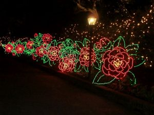 Delightful lights and scenes are around every corner at Bellingrath Gardens outside Movile, AL. Jodie Jacobs photo