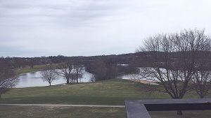 View from balcony at Grand Geneva Resort in Lake Geneva, WI. (Jodie Jacobs photos)