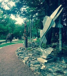 A must gallery stop is Edgewood Orchard in Fish Creek to do its sculpture walk.