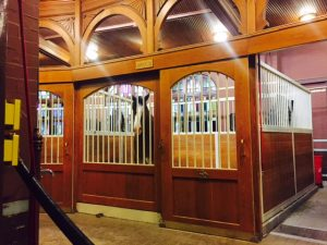 Visit the Clydesdales on a Budweiser tour