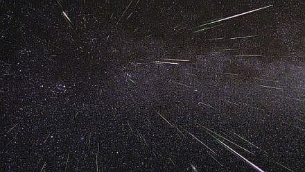 Perseid Meteor Shower peaks August 12 and 13 in 2018. (NASA photo)