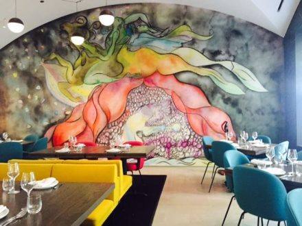 Doing lunch at Marisol at the Museum of Contemporary Art (J Jacobs photo)