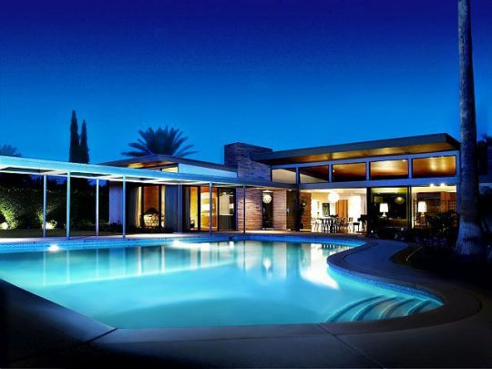 Frank Sinatra House, Palm Springs (Jake Holt photo)