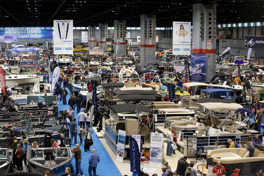 Chicago Boat Show at McCormick Place (Photo courtesy of Chicago Boat Show)