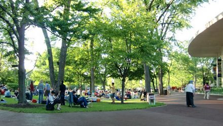 Ravinia Festival in Highland Park is the summer home of the CSO. (J Jacobs photo)