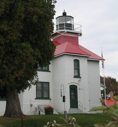 Grand Traverse Lighthouse on Leelanau Peninsula