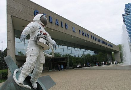 Gerald Ford Presidential Museum in Grand Rapids, MI (J Jacobs photo)