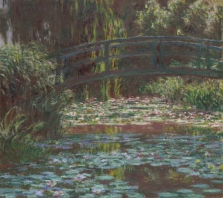 Claude Monet. Water Lily Pond, 1900. The Art Institute of Chicago, Mr. and Mrs. Lewis Larned Coburn Memorial Collection. (Photo courtesy of AIC)
