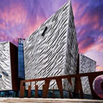 Titanic Belfast in Northern Ireland's capital. (Photo courtesy of Tourism Ireland)