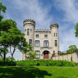 Givins Castle in Beverly (Photo by Eric Allix Rogers)