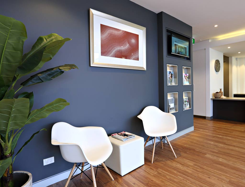 The rooms of Dr Patrick Mehanna & Dr Bobby Yang, oral & maxillofacial surgeons Newcastle
