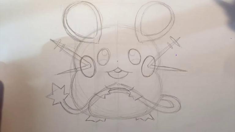 how-to-draw-dedenne-pokemon-step-12