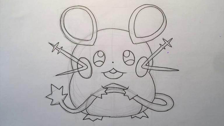 how-to-draw-dedenne-pokemon-step-11