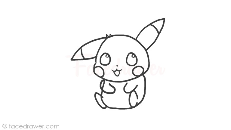 Learn How To Draw Chibi Pikachu Step By Step Drawing Tutorial