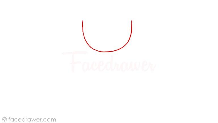 how to draw mugman cuphead step 1