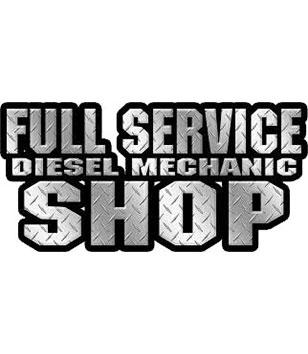FULL SERVICE DIESEL MECHANIC SHOP