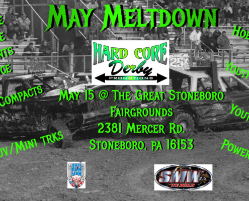 MAY MELTDOWN | May 15th | The Great Stoneboro Fairgrounds
