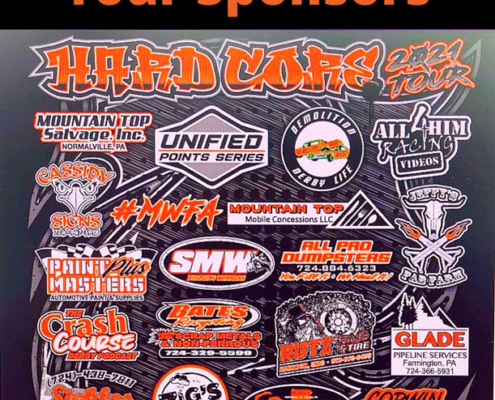 2021 Hardcore Derby Promotions Sponsors