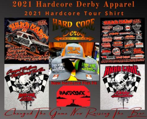 2021 Hardcore Derby Apparel