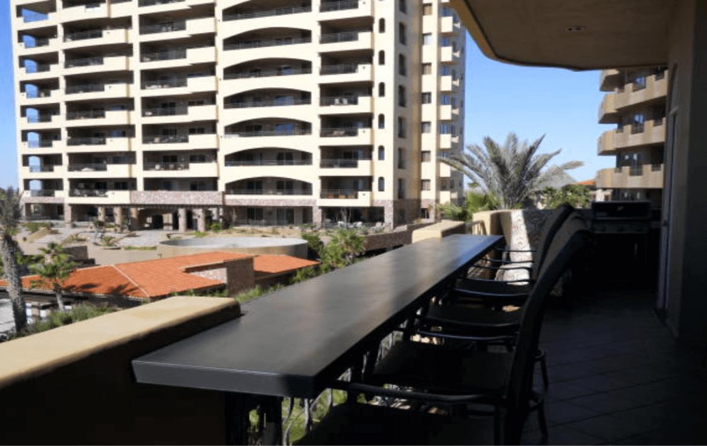 Luxurious Condo Balcony