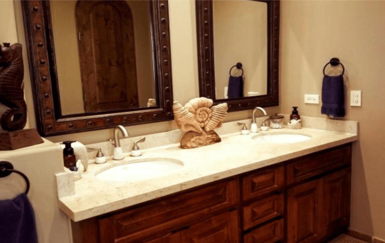 Luxurious Condo Master Bathroom