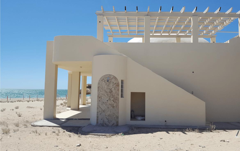 Playa Azul Condos For Sale Villa Exterior Backstairs