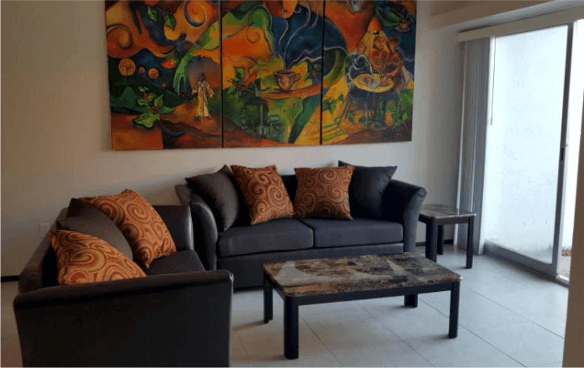 Image of great townhome Conjunto Ballena 6 Living Room.
