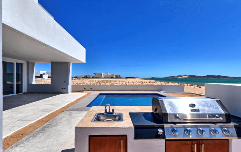 Elegant Oceanfront Home Patio 2