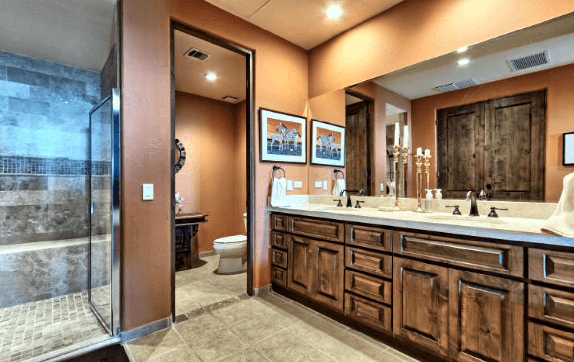 Condo With Stunning Ocean Views Master Bathroom