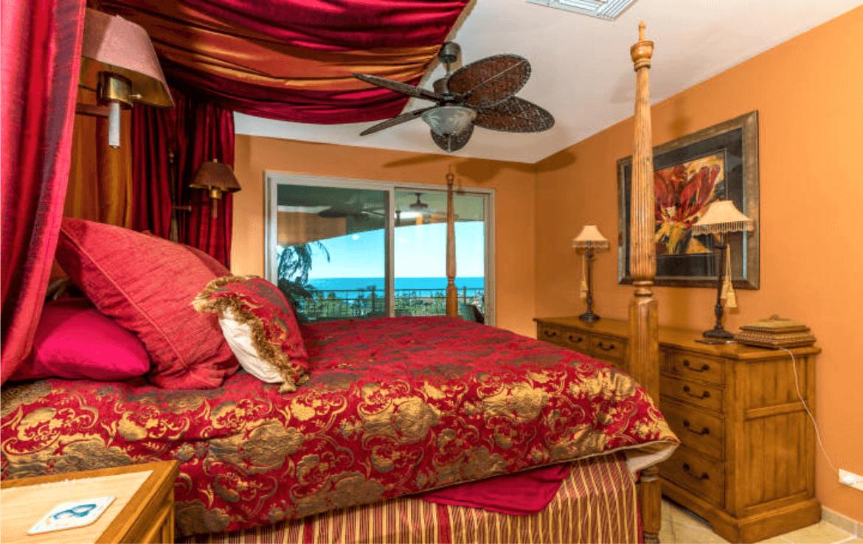 Condo With Stunning Ocean Views Master Bedroom