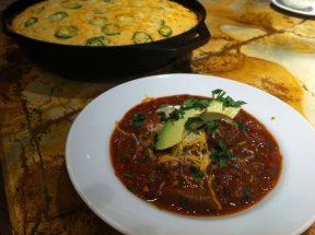 Spicy brisket chili1