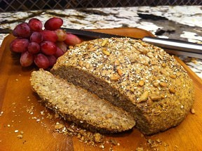 Flourless Nut Bread
