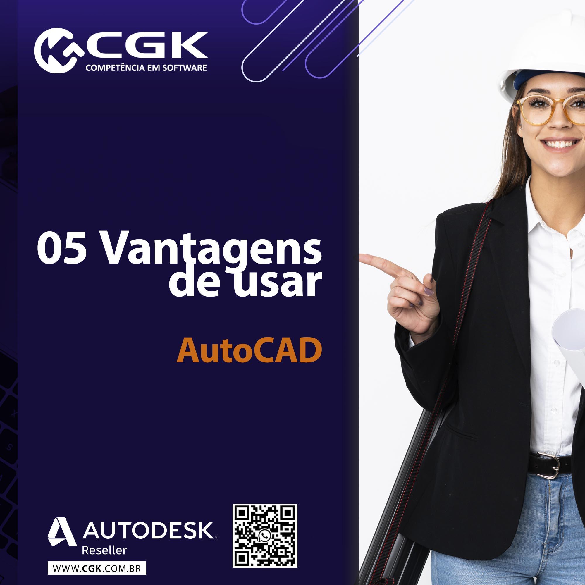 5 vantagens de se usar o AutoCAD