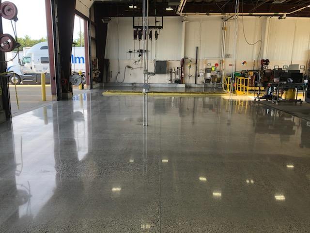 After - Walmart distribution Center. Truck Repair Bay3