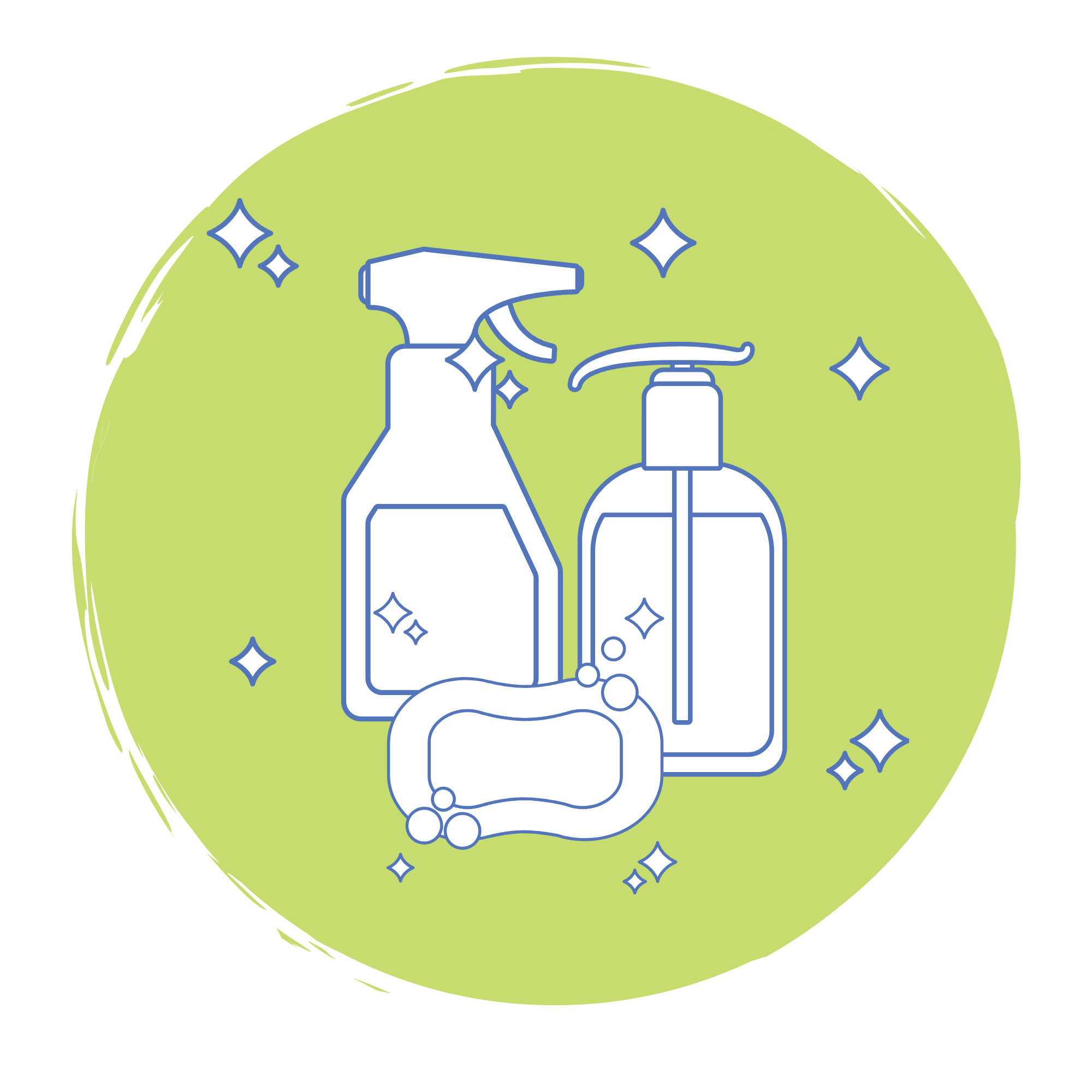 Cleaning Products Graphic
