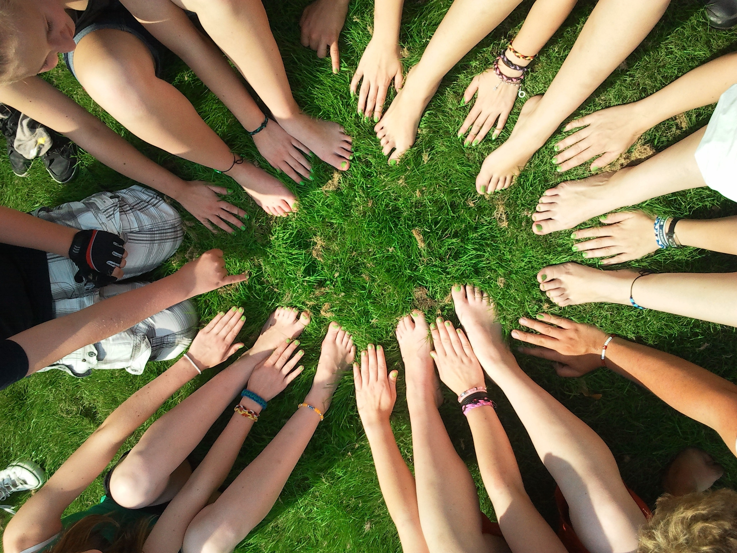 person-gather-hand-and-foot-in-center-53958