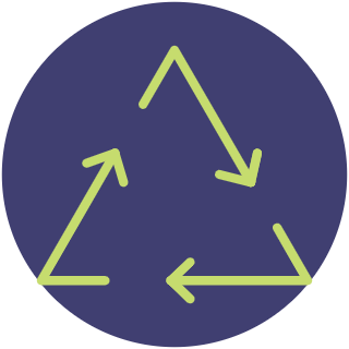 Triangle Recycle Graphic
