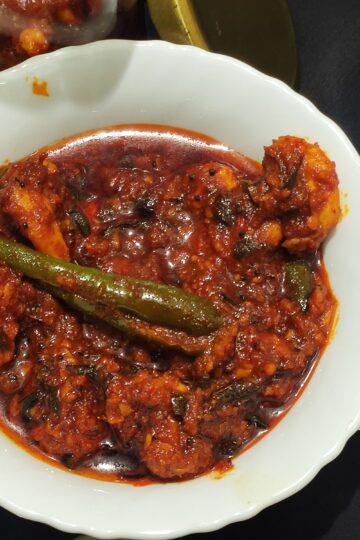 Kerala prawn pickle
