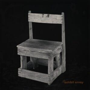 Chair Made by Mitsuo Kaida in 1944, Tule Lake, California. Japanese American Museum of San Jose, 2009.