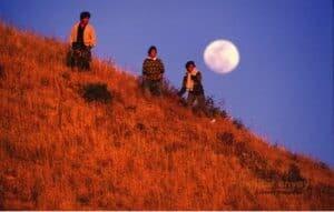 Otay Mesa Moon (Smuggler and family)
