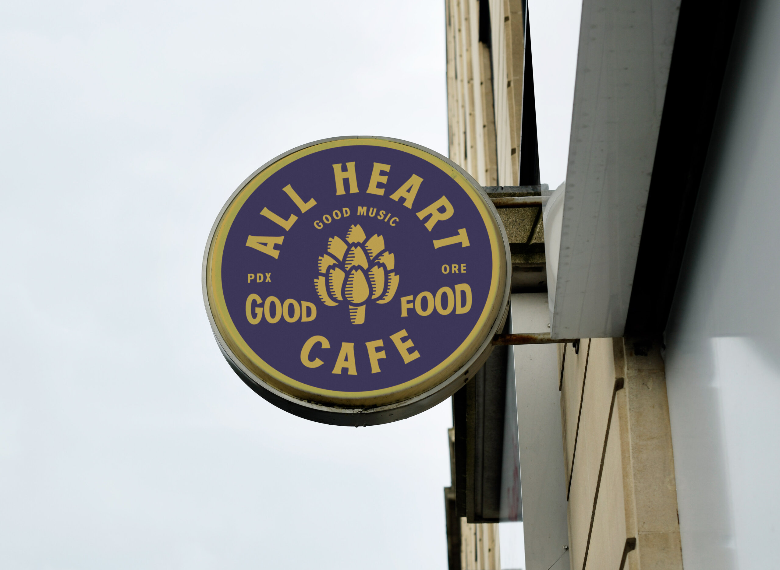 All Heart Cafe Sign
