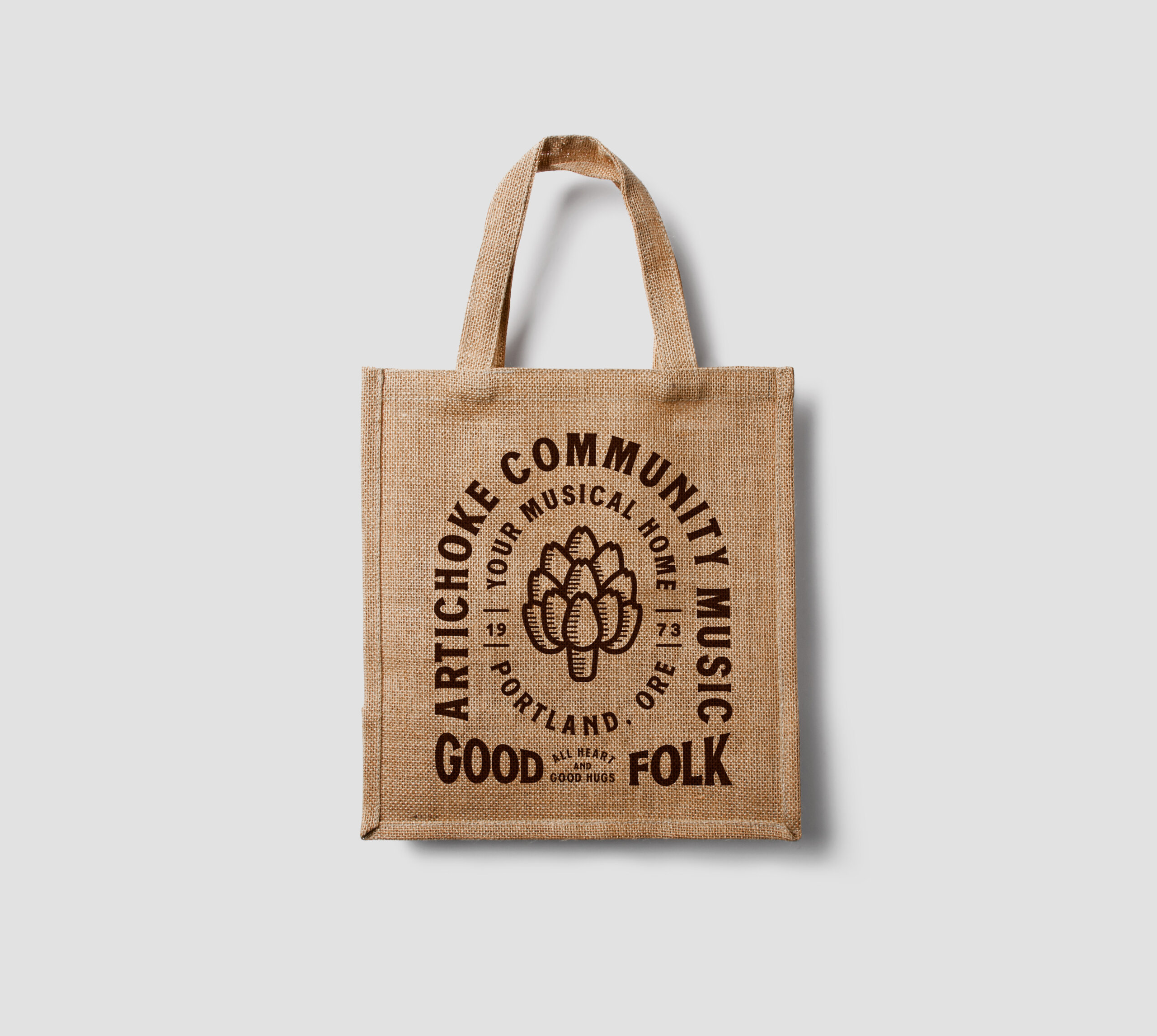 Artichoke Music Tote Bag