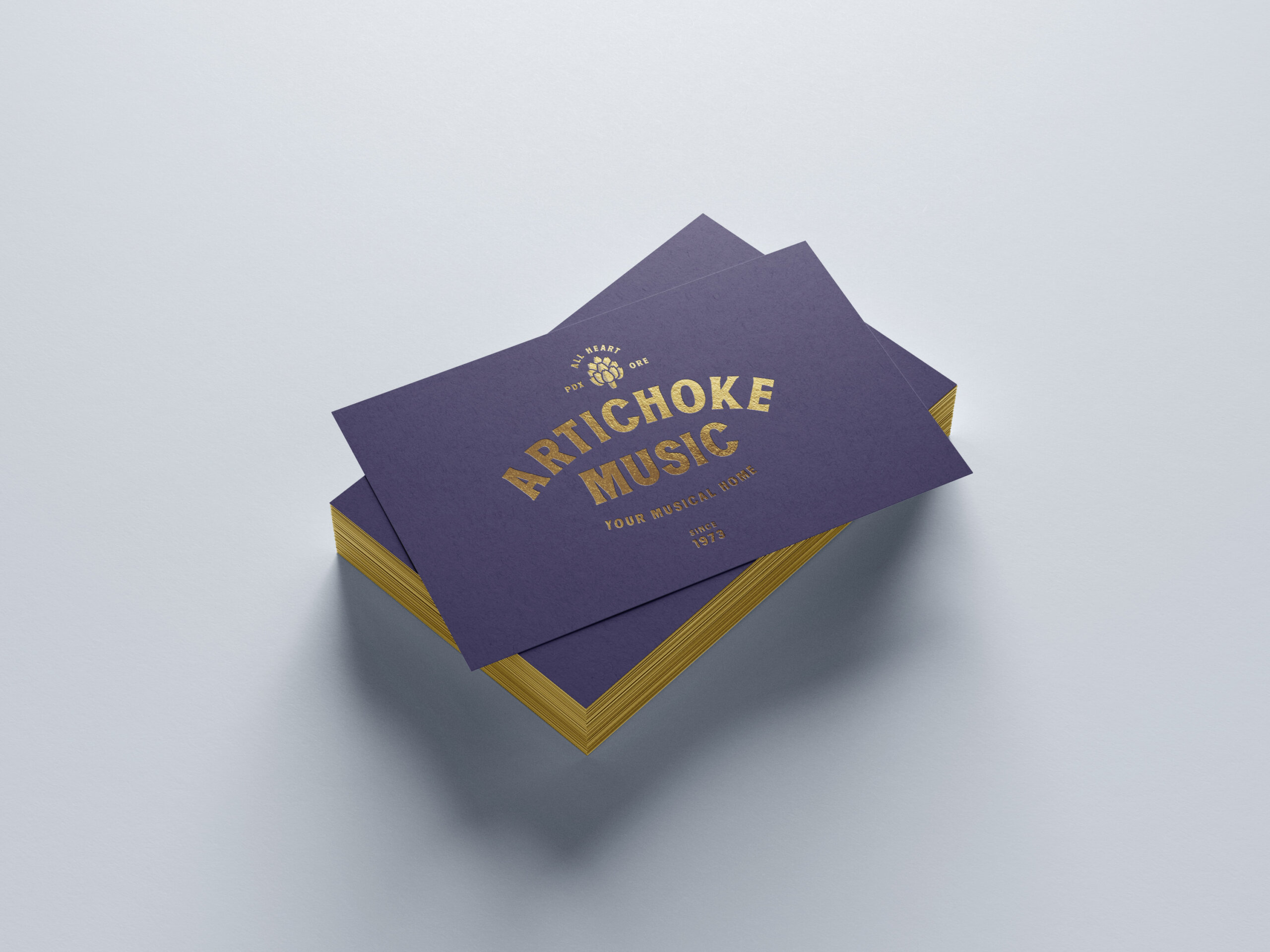 Artichoke Music Business Cards